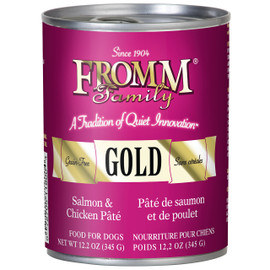 Fromm Pate Salmon & Chicken Pate Canned Dog Food
