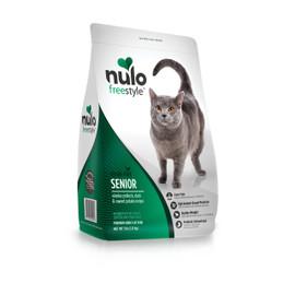 Nulo Freestyle Senior Alaska Pollock, Duck & Sweet Potato Recipe Dry Cat Food  - 5 lb