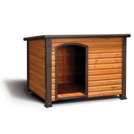 Precision Pet Log Cabin Dog House