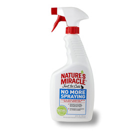 Nature's Miracle Just for Cats No More Spraying Stain & Odor Remover Spray
