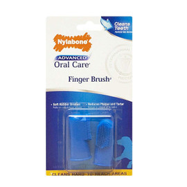 Nylabone Advanced Oral Care Finger Brush for Dogs