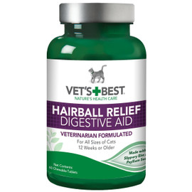 Vet's Best Cat Hairball Relief Digestive Aid Supplement