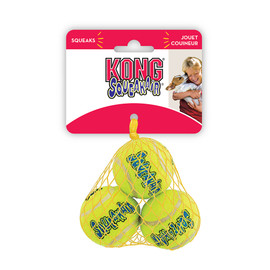 Kong 3-Pack SqueakAir Balls Dog Toy