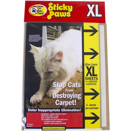Sticky Paws XL Sheets for Cats