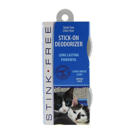 Stink Free Litter Box Stick-On Deodorizers for Cats