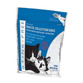 Stink Free Odor Seal Cat Litter Bags