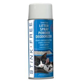 Stink Free Litter Spray Powder Deodorizer
