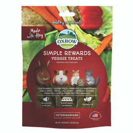 Oxbow Simple Rewards Small Animal Veggie Treats