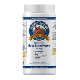 Grizzly Joint Aid Mini Pellet Hip and Joint Support for Dogs