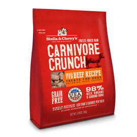 Stella & Chewy's Carnivore Crunch Beef Recipe Dog Treats