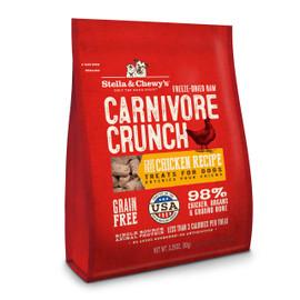 Stella & Chewy's Carnivore Crunch Chicken Recipe Dog Treats