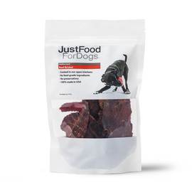 JustFoodForDogs Beef Brisket Dog Treats