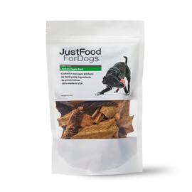JustFoodForDogs Chicken Apple Bark Dog Treats