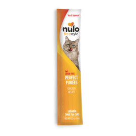 Nulo Freestyle Perfect Puree Chicken Lickable Cat Treat - Front