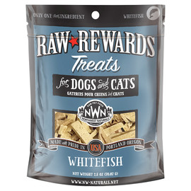 Raw Rewards Whitefish Freeze Dried Dog & Cat Treats