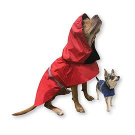 Pet Food Express Rain Poncho for Dogs