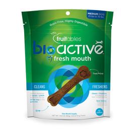 Fruitables BioActive Fresh Mouth Medium Dog Dental Treats