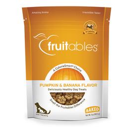 Fruitables Pumpkin & Banana Flavor Baked Dog Treats