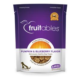 Fruitables Pumpkin & Blueberry Flavor Baked Dog Treats