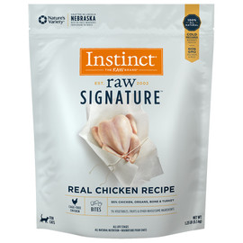 Instinct Raw Signature Frozen Bites Real Chicken Recipe Cat Food