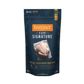 Instinct Raw Signature Frozen Patties Real Chicken Recipe Dog Food