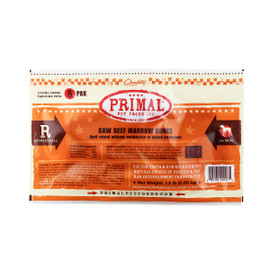 Primal Raw Frozen Recreational Beef Marrow Bones for Dogs & Cats