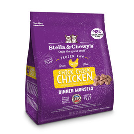 Stella & Chewy's Chick, Chick Chicken Dinner Morsels Frozen Raw Cat Food
