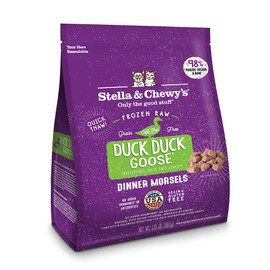 Stella & Chewy's Duck Duck Goose Morsels Frozen Raw Cat Food