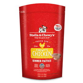 Stella & Chewy's Chewy's Chicken Dinner Patties Frozen Raw Dog Food
