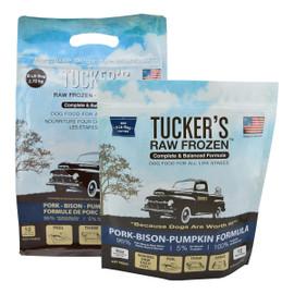Tucker's Raw Frozen Pork-Bison-Pumpkin Recipe Dog Food - Front