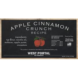 West Portal Natural Apple Cinnamon Crunch Dog Biscuits
