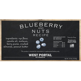 Pet Food Express Natural Blueberry and Nuts Dog Treats