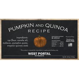 West Portal Natural Pumpkin & Quinoa Dog Biscuits