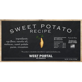 West Portal Natural Sweet Potato Dog Biscuits