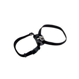 Coastal Size Right Snag-Proof Black Adjustable Cat Harness