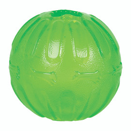 Starmark Treat Dispensing Chew Ball Dog Toy