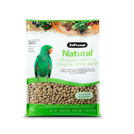 ZuPreem Natural Parrot and Conure Bird Food