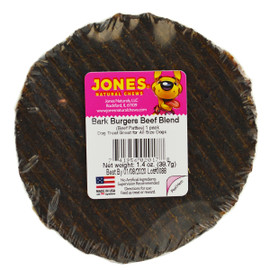 Jones Bark Burgers Beef Blend Dog Chew Treat