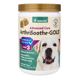 NaturVet ArthriSoothe-Gold Advanced Care Soft Dog Chews