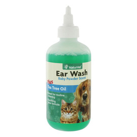 NaturVet Ear Wash Liquid for Dogs and Cats