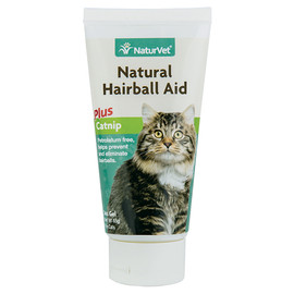 NaturVet Natural Hairball Aid Gel for Cats