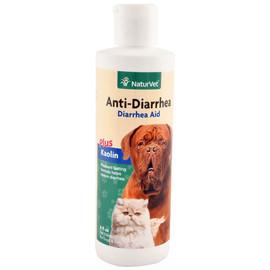 NaturVet Anti-Diarrhea Liquid for Dogs & Cats