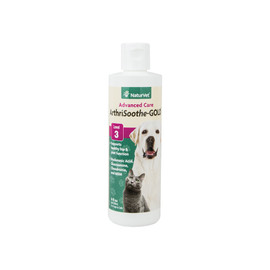 NaturVet Arthrisoothe-Gold Advanced Care Liquid Supplement for Dogs & Cats
