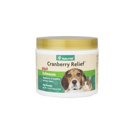 NaturVet Cranberry Relief Powder for Dogs & Cats