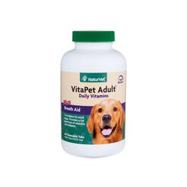 VitaPet Adult Daily Vitamins Plus Breath Aid Chewable Dog Tablets