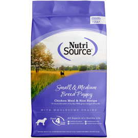 NutriSource Small and Medium Breed Puppy Dry Dog Food