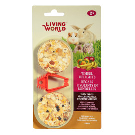 Living World Wheel Delights Small Animal Treat