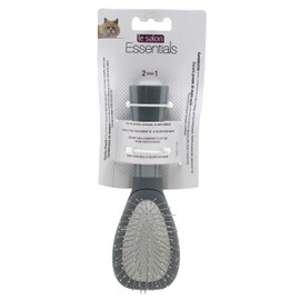 Le Salon Essentials Bristle/Steel Pin Combo Cat Brush