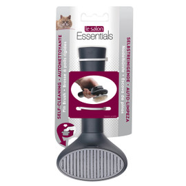 Le Salon Self-Cleaning Slicker Cat Brush