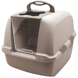 Catit Jumbo Hooded Cat Pan Litter Box